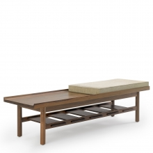 Tamarack Table & Bench
